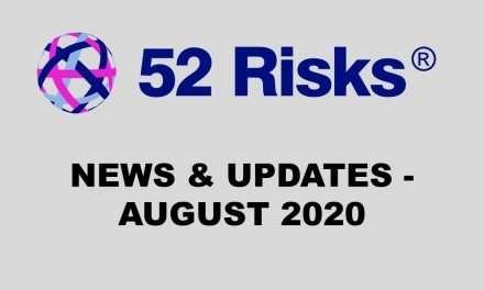 52 Risks News & Updates – August 2020