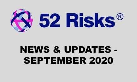 52 Risks News & Updates – September 2020
